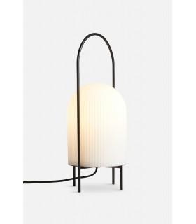Industrialna lampa stołowa Dean Disc  - czarna  Nordlux