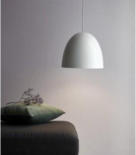 Lampa Ball - szary mat
