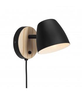 Lampa Factory L - czarna HK Living