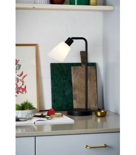 Lampa podłogowa ARIGATO - czarna