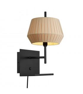 Biała lampa wisząca w stylu skandynawskim - Nordlux Arki