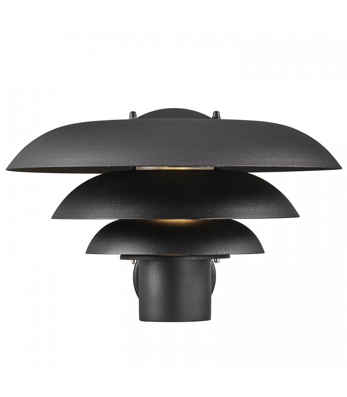 Czarna lampa wisząca Fascino