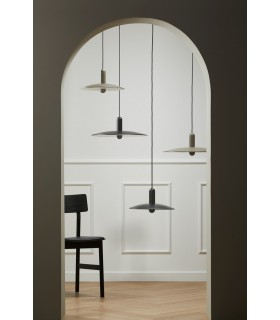 Skandynawska lampa podłogowa  NORD - biała