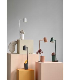 Szara lampa podłogowa Cool Frandsen