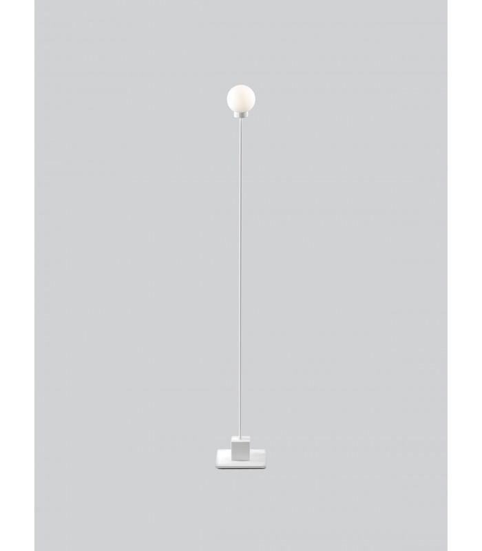 Szklana lampa wisząca w kształcie kuli - przydymione szkło -Bloomingville