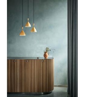 Tekstylna lampa wisząca Bloomingville – czarna