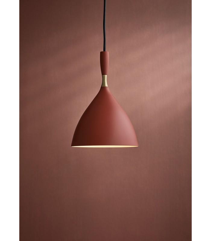 Bambusowa lampa wisząca, podłużna