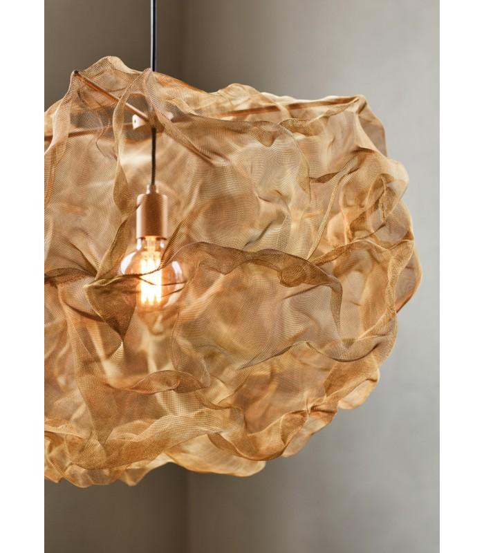 Szklana lampa Ball – brązowa