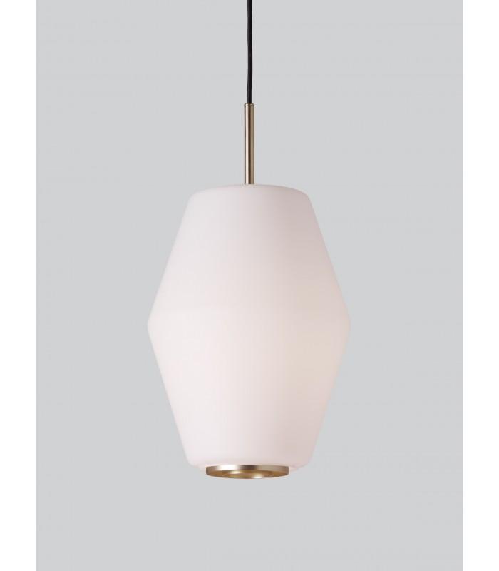 Lampa industrialna biała projekt A. Wedel-Madsen śr. 18cm