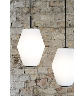 Lampa Acorn white steel Vita Copenhagen - miedź