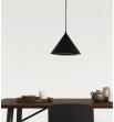 Industrialna  lampa wisząca Sally  szara - Dutchbone