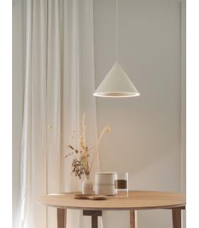 Industrialna  lampa wisząca Sally  czarna -  Dutchbone