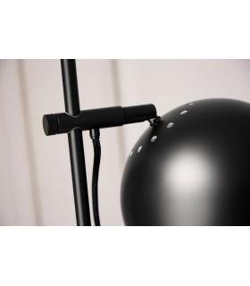 Czarna lampa wisząca w stylu skandynawskim Nordlux Lyne