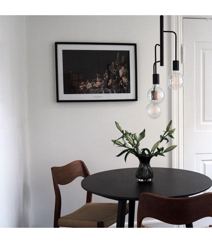 Biały kinkiet w skandynawskim stylu - LINEA NORD