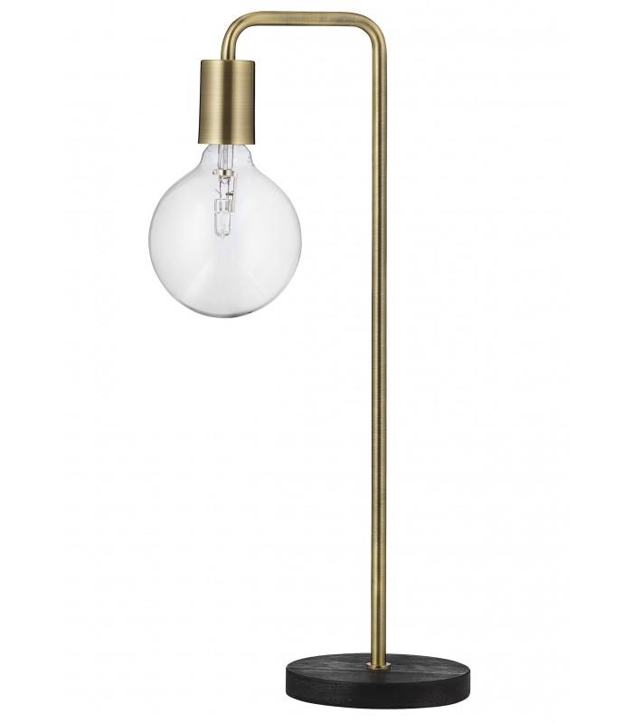 Lampa podłogowa Frandsen Cool  - antyczny mosiądz