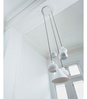 Biała lampa podłogowa MIB6