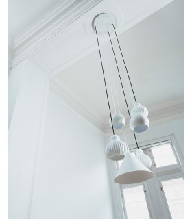 Lampa podłogowa Float - miedziana