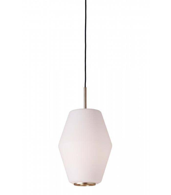 Nowoczesna zewnętrzna  lampa stojąca Helix - stal ocynkowana