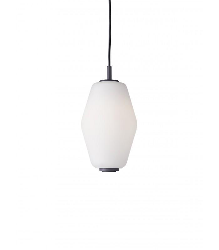 Nowoczesna zewnętrzna lampa stojąca Helix - corten