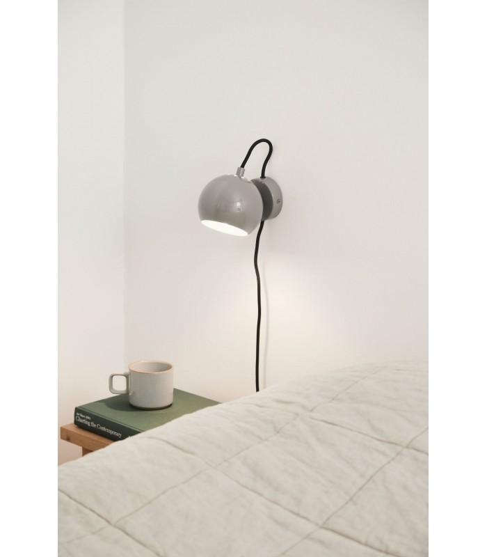 Industrialna lampa wisząca - czarna