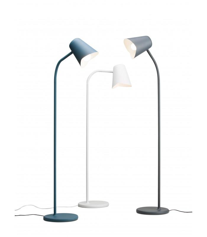 Jasnoniebieska lampa wisząca POP