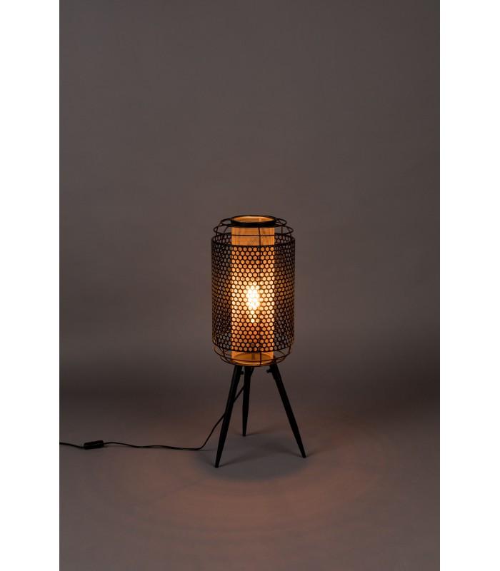 Skandynawska lampa stołowa Ray - czarna