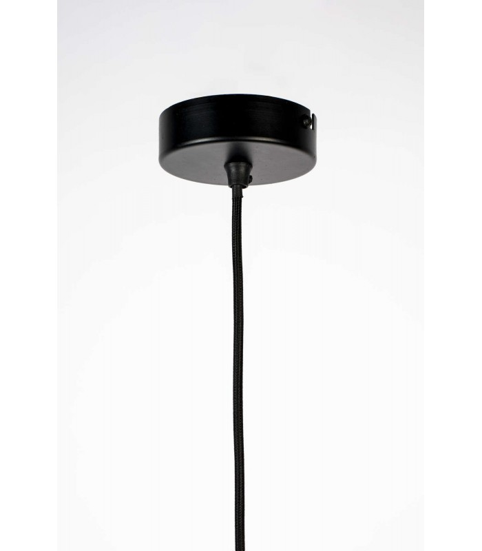 Lampa podłogowa Ball Double - czarna