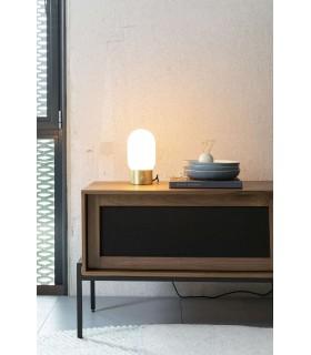 Biała lampa sufitowa Arigato - wydłużona