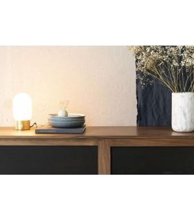 Biała lampa sufitowa Arigato 2 - wydłużona