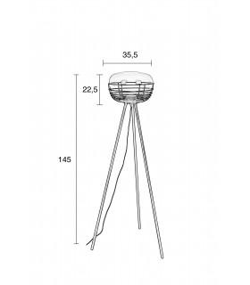 Aluminiowa lampa wisząca Aluvia medium - ciemna zieleń