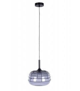 Aluminiowa lampa wisząca Aluvia medium - niebieski
