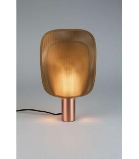 Aluminiowa lampa wisząca Aluvia medium - perłowa biel