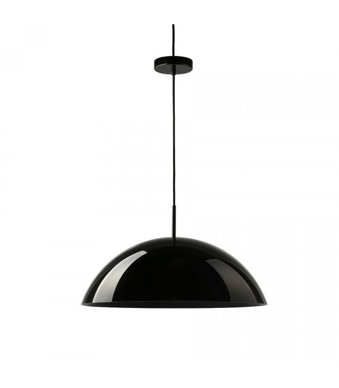 Szklana lampa  - Frandsen Grace  ø30  szara