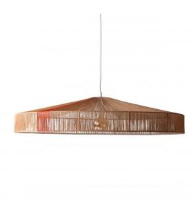 Szklana lampa  - Frandsen Grace  ø30  zielona