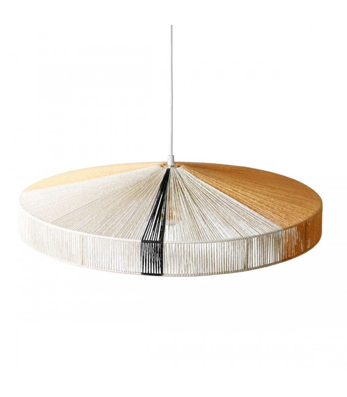 Szklana lampa - Frandsen Grace ø30 brązowa