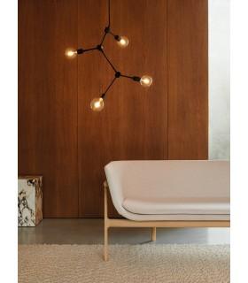 Szklana Lampa Karma 20 DFTP - Nordlux jasne drewno