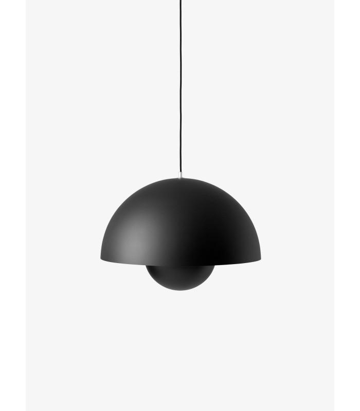 Szklana Lampa z drewnianym wykończeniem Frandsen Design