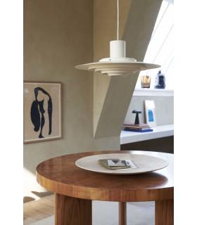 Skandynawska lampa podłogowa Eik Nordlux - szara